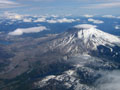 Mt. St. Helens and Mt. Adams