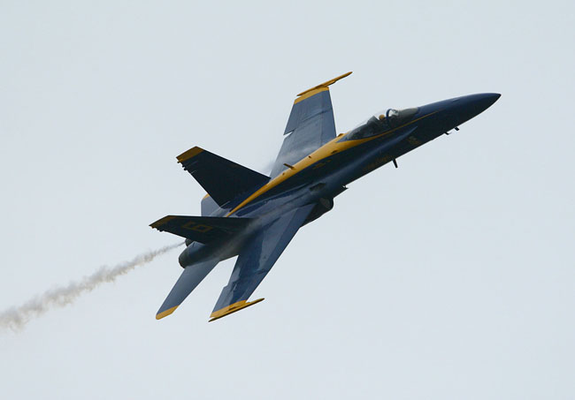 Blue Angels at Seafair in Seattle